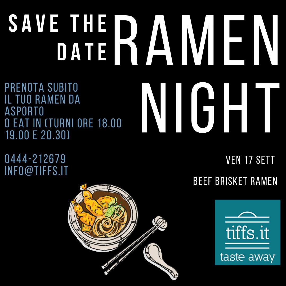 Ramen Night giov 17 sett 2021