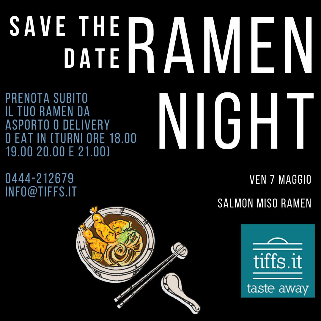 Ramen Night, ven 7 maggio