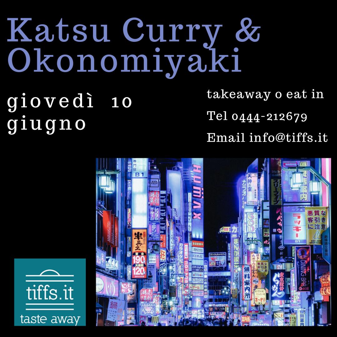 Katsu Curry & Okonomiyaki